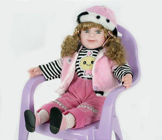 Boneca Importada Little Children 221M menina
