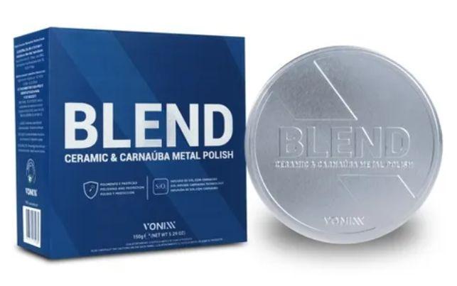 Blend Ceramic & Carnaúba Metal Polish 150g Vonixx