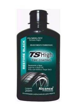 TS High Revestimento Pigmentado Para Pneus Com SiO2 200Ml - Alcance