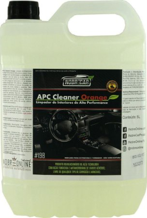 APC Cleaner Orange 5L - Nobre Car