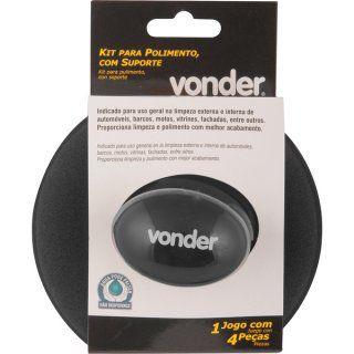 Kit de Polimento 3 em 1 Com Suporte - Vonder