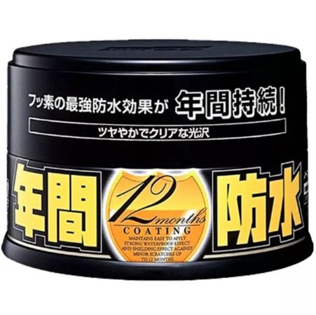 Cera Fusso Coat Black 12 meses Cores Escuras 200g - Soft99