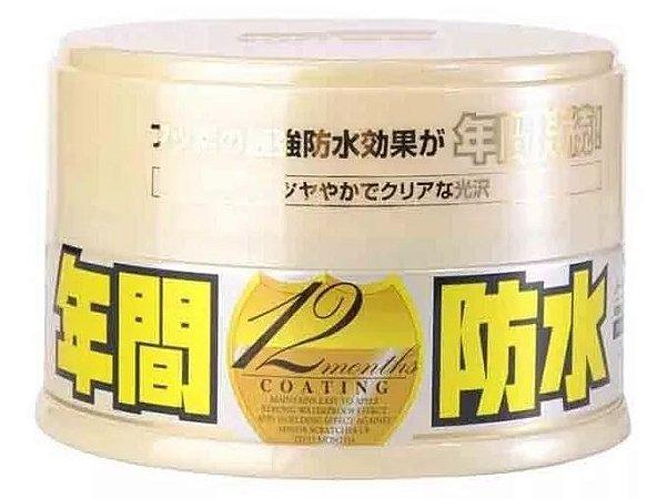 Cera Fusso Coat Light 12 meses Cores Claras 200g  - Soft99