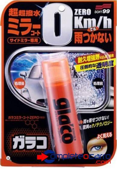 Glaco Zero para Câmeras e Retrovisores 40ml - Soft99