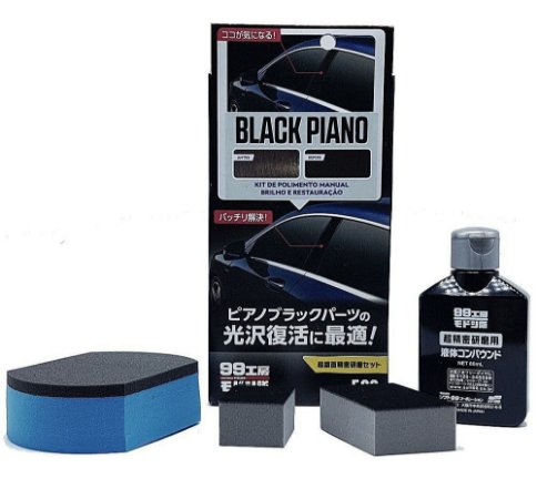Black Piano Nano Polidor Manual 80ml - Soft99