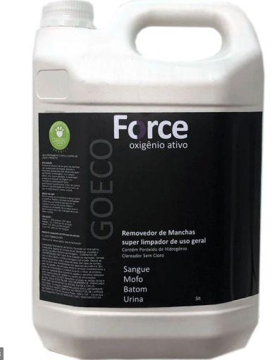 FORCE - Removedor de Manchas com Oxigênio Ativo 5LT - Go Eco Wash