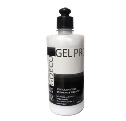 GELPRO - Gel Silicone Renovador de Plásticos e Borrachas 500ML - Go Eco Wash