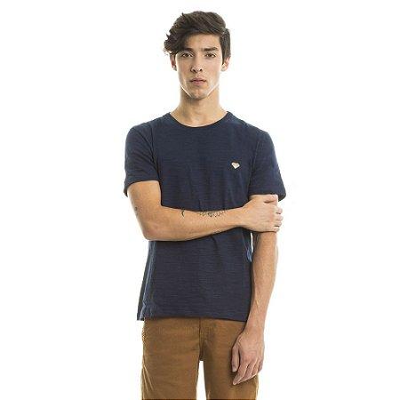 Camiseta Flamê Lisa Azul Marinho