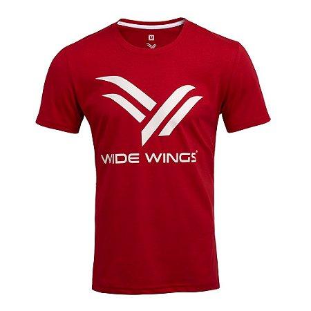 Camiseta Wide Wings Vermelha
