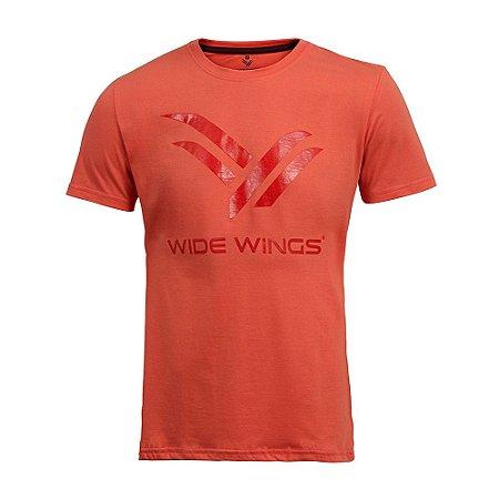 Camiseta Wide Wings Coral