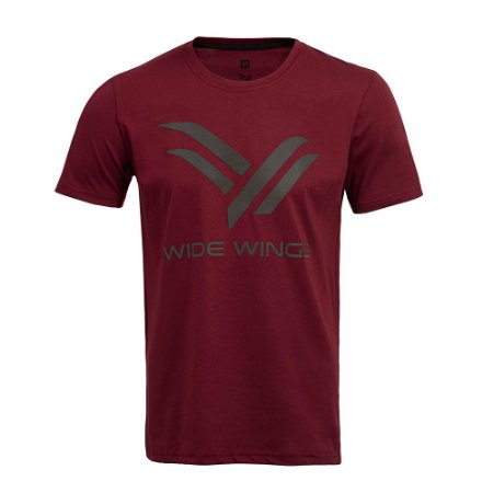 Camiseta Wide Wings Vinho