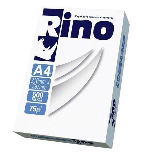PACOTE SULFITE RINO 500 FOLHAS 75g/m²