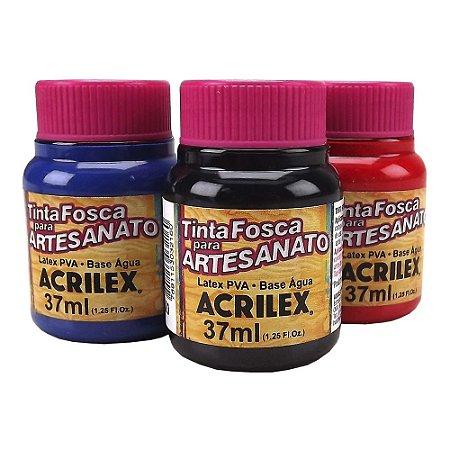 Tinta PVA Fosca  Artesanato Acrilex - 37 ml