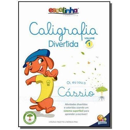 LIVRO CALIGRAFIA DIVERTIDA - VOLUME 1