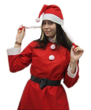 Roupa Mamae Noel