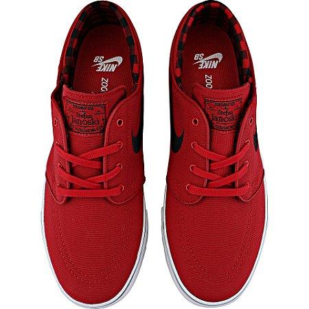 Tenis Nike SB  Janoski Vermelho