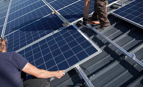 Instalação de Sistema de Geração de energia Fotovoltaica