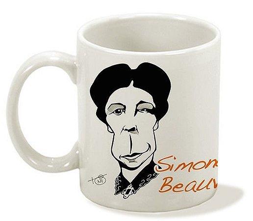 Caneca Série Pensadoras - Simone de Beauvoir