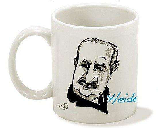 Caneca Série Filosofia - Heidegger