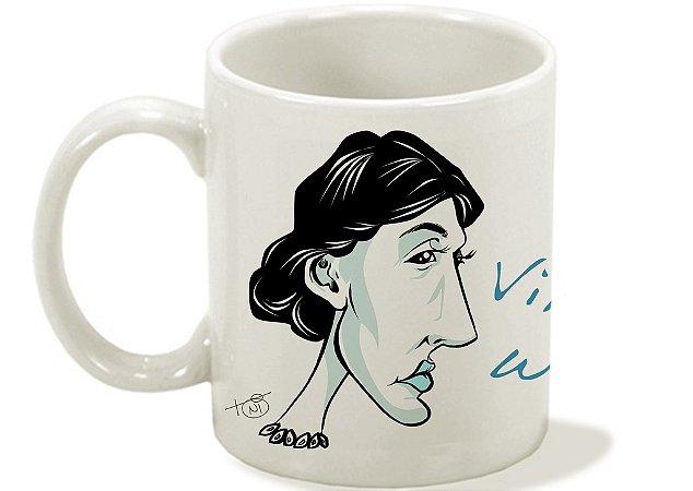 Caneca Mulheres Fantásticas - Virginia Woolf