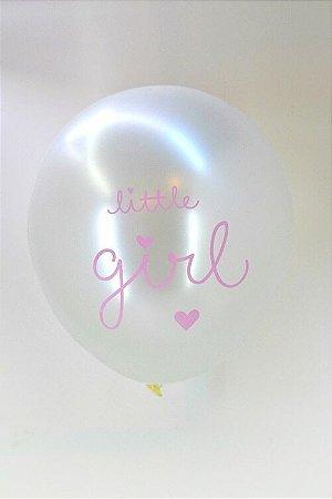 BALÃO 12'' PEROLIZADO - LITTLE GIRL (UNIDADE)