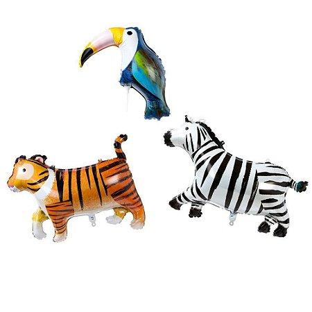 BALÕES PARTY ANIMALS TALKING TABLES (3 UNIDADES)