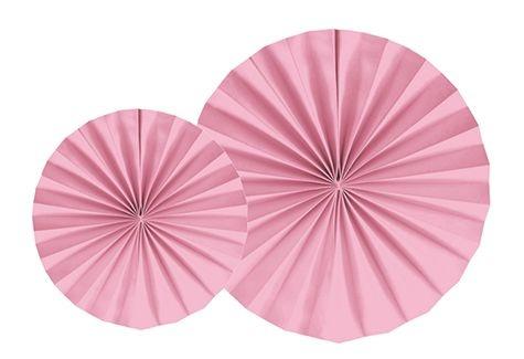 LEQUE ROSA  35 cm (2 UNIDADES)