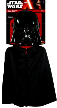KIT CAPA E MÁSCARA DARTH VADER