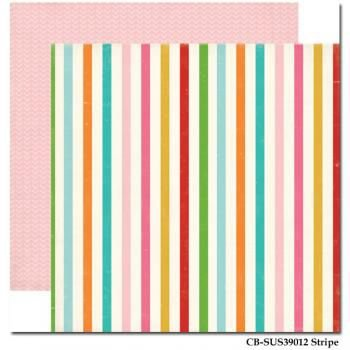 PAPEL SCRAP STRIPE COLORS  (UNIDADE)