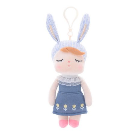 METOO DOLL MINI COELHA AZUL