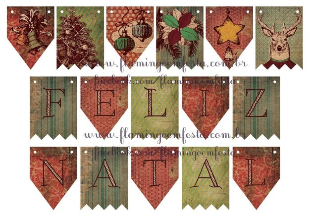 KIT DECORATIVO NATAL