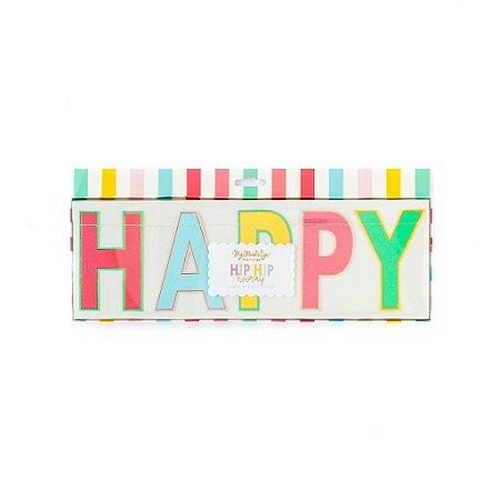 GUIRLANDA HAPPY BIRTHDAY MY MIND'S EYE