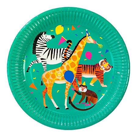 PRATO GRANDE ANIMAL WORLD TALKING TABLES (8 UNIDADES)