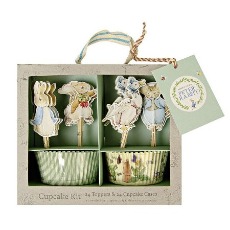 KIT PARA CUPCAKE PETER RABBIT MERI MERI