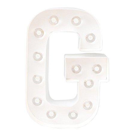 LETRA LUMINOSA - G (20cm)