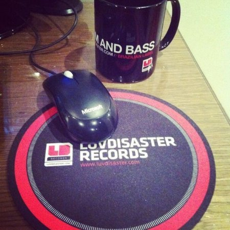 Mouse Pad Redondo LuvDisaster