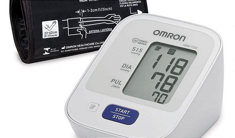 Monitor de pressão arterial automático de braço control+ (hem-7122)