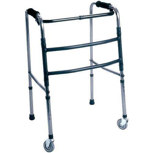 Andador em alumínio com rodízio infantil DB004 (hosp)