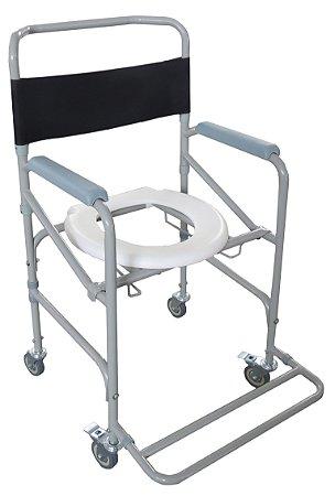 Cadeira de rodas banho dobrável  D40 (hosp)