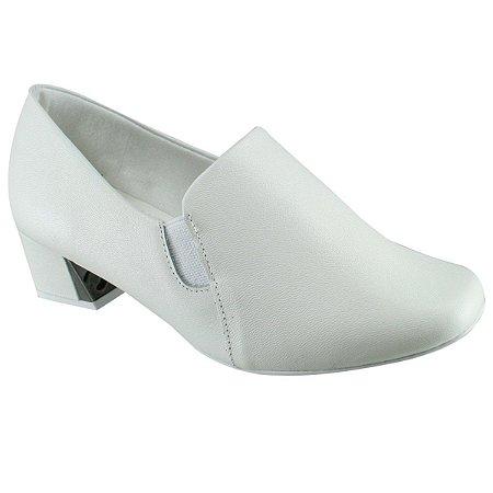 Calçado feminino branco S6542/61