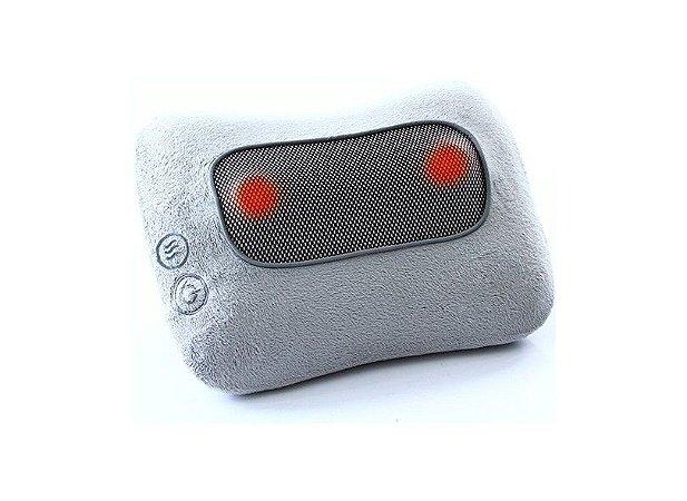 Encosto massageador shiatstu rotativo com aquecimento comfort - rm-es3838a