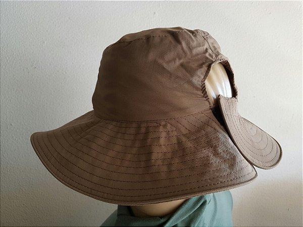 Chapeu esmeralda urbano com proteção UV
