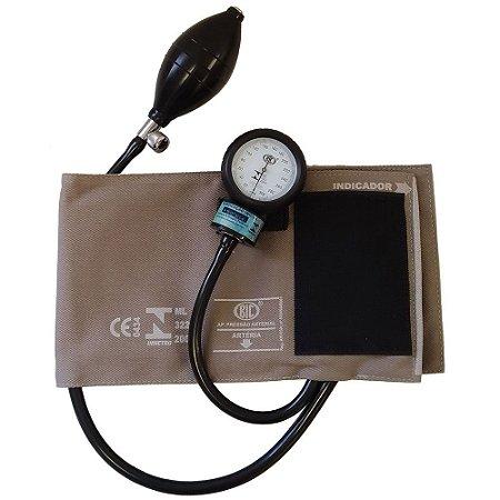Aparelho de pressão adulto brim velcro  bic (hosp)