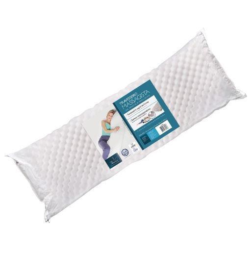 Travesseiro massagista com gomos massageadores 50 cm x 150 cm (Body Confort)