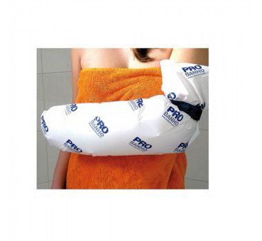 Protetor plástico para banho de braço