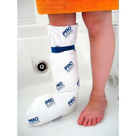Protetor plástico para banho de perna