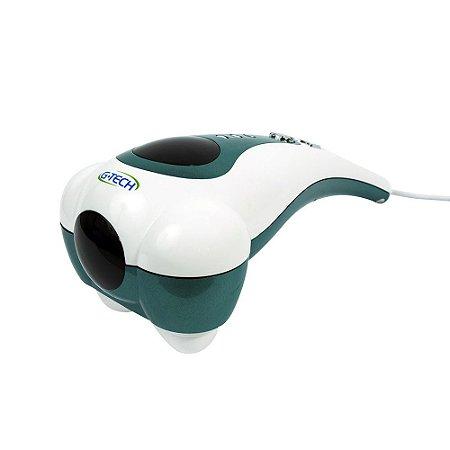 Mega Massageador com aquecimento e vibração 110V G-tech