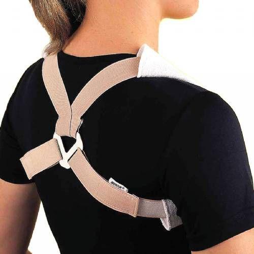 Corretor postural elástico em oito