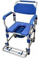 Cadeira de banho higiênica  com assento estofado