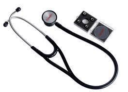 Estetoscópio Premium Cardiológico preto